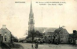 St Gilles Vieux Marché * Place Et église * Attelage Chevaux - Other Municipalities