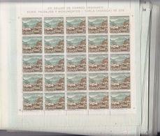 74 PLIEGOS COMPLETOS DEL **1727 TORLA (HUESCA) TURISMO AÑO 1966 - TOTAL 1.950 SELLOS - OFERTA POR LIQUIDACION - OCASION - Blocs & Hojas