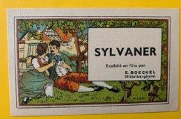 15120 - Alsace  Sylvaner  E.Boeckel - Etiquettes