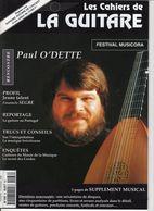 Revue De Musique - Les Cahiers De La Guitare - N° 66 - Paul O Dette - Music
