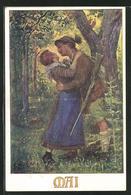 Künstler-AK Karl Friedrich Gsur: Deutscher Schulverein Nr.1273: Mai - Oorlog 1914-18