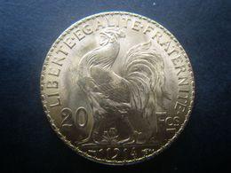 France IIIème République 20 Francs Or Au Coq Et Marianne 1914 Paris SPL F. 535/6 Acheté CGB Or 900/1000° 6,45 Grammes - Frankrijk