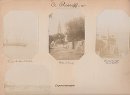 8 Photos De Roscoff En 1903 - Oud (voor 1900)