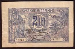 ROUMANIE - Billet 2 Lei  17 07 1920 - Pick 18 - Rumänien