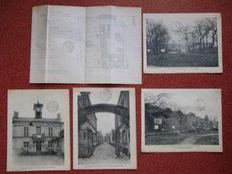Plan Du Lotissement Et 4 Phototypies VILLA DES OTAGES 85 Rue Haxo PARIS 20 ème  Vers 1910 - Paris (20)