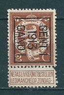 PREO 42 Op Nr 109 GENT I 1913 GAND I - Positie B (zie Opm) - Precancels