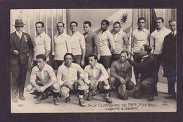 CPSM Jeux Olympiques 1924 Paris Non Circulé AN 160 Football équpe D'Urugay - Jeux Olympiques