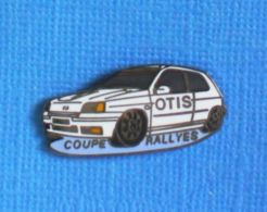 1 PIN'S //  ** COUPE RALLYES / CLIO RS OTIS ** . (© LTO) - Rally