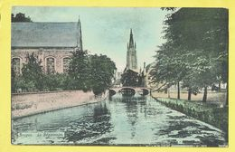 * Brugge - Bruges (West Vlaanderen) * (KLEUR) Le Béguinage, Begijnhof, Klooster, Couvent, Canal, Quai, Pont, église - Brugge