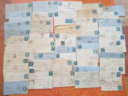France - Lot De 50 Lettres Classiques  - DEPART 1 EURO - Poststempel (Briefe)