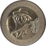 2015 MDP148 - SAINT-LÉONS - Micropolis 5 (Centenaire De La Mort De Jean-Henri Fabre) / MONNAIE DE PARIS - Monnaie De Paris