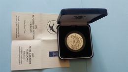 ESTONIA 1992 SILVER PROOF COIN - Estland