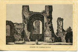 Roma - Terme Di Caracalla - Riproduzioni