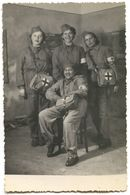 Red Cross Yugoslavia - Civil Protection, Real Vintage Photo Format PC - Croix-Rouge