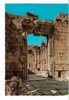 LIBAN BAALBECK ENTREE DU TEMPLE DE BACCHUS - Libanon