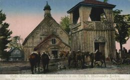 REITERPATROULLE IN EIN DORFE D.BIALOWIESKA FORSTES POLAND   Militaria 1914/15  WWI WWICOLLECTION - Pologne
