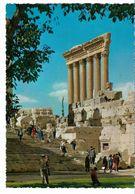 LIBAN BAALBECk Escalier Du Temple De Bacchus Et Les Six Colonnes - Libanon
