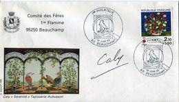 Philatelie .n° 13 . Timbres France Obliteres. Cachet 1 Ere Philatelie 16 Juin 1985 . - Other