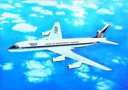 DOUGLAS DC-8  ( F-BJUV )   - U.T.A.  - UNION DE TRANSPORTS AERIENS - Aviation (Avion Aircraft Jet Luchtvaart) - 1946-....: Ere Moderne