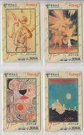 CHINA 2002 ART PAUL KLEE SET OF 4 PHONE CARDS - Malerei