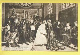 * Antwerpen - Anvers - Antwerp * (G. Hermans, éd Anvers, Nr 1148) Musée D'Anvers, Réconciliation, P. Van Der Ouderaa - Antwerpen