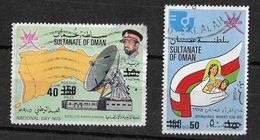 1975 OMAN National Day New Surcharge Used - Oman