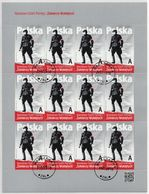 POLAND 2016  National Army AK Cursed Soldiers Mini Sheet Canceled - 1944-.... Republic