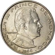 Monnaie, Monaco, Rainier III, Franc, 1966, SUP, Nickel, Gadoury:MC 150, KM:140 - 1960-2001 Francos Nuevos