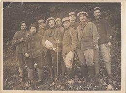 Photo Groupe Militaire Au Camp De Bouconne - Krieg, Militär