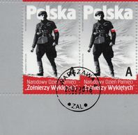 POLAND 2016  National Army AK Cursed Soldiers Pair Canceled - 1944-.... Republic