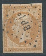 Lot N°56565a   N°13A, Oblit Losange BP 1°des Ambulants, Bonnes Marges, Sans Pli, Ni Clair - 1853-1860 Napoléon III.