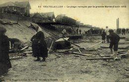 17 Châtelaillon-Plage - La Plage Ravagée Par La Grande Marée D'aout 1912 / 644 - Châtelaillon-Plage
