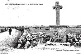 Le Croisic. La Croix De Kervaudu Et Les Alentours. - Le Croisic