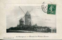 PEU COMMUNE ! LA CHATAIGNERAIE 1913 MOULINS DES ROCHERS LERREAU  VENDEE - France