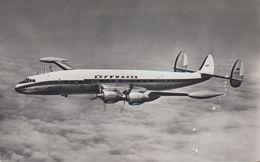 """D- Lockheed L-1049 Super Constellation """"Lufthansa"""" - Stempel 1956 - 1946-....: Ere Moderne"""