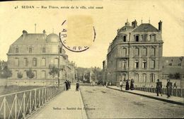 08 Sedan - Rue Thiers / A 644 - Sedan