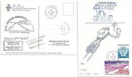 YT 199 Station SODAR - étude Des Vents Catabatiques - Dumont D'Urville - Terre Adélie - 20/12/1997 - Briefe U. Dokumente