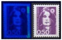 Marianne Bicentenaire 2619-bande Phospho Incomplète En Pointillé_(v198) - Varietà: 1990-99 Nuovi