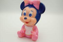 PIEPER POUET SQUEAKY: WALT DISNEY BABY MOUSE  - L=13 - Rubber - Vinyl -1980's - Smurfs