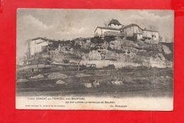 Condat Sur Trincou : Une Vue Vers L'église Vers 1900 - France