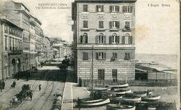 A VOIR ! SAMPIERDARENA VIA CRISTOFORO COLOMBO ITALIE ITALIA - Genova (Genoa)