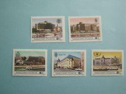 Bateaux 1984 Hongrie Yv 2930/4  ** MNH Michel  3702/6  Scott 2364/8  SG 3577/1 Ships  Hôtels - Hongrie