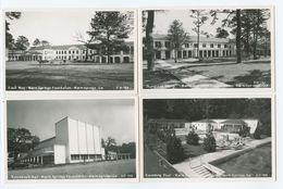 4 Postcards, Warm Springs Foundation, Georgia ( 2 Scans) - Etats-Unis