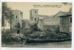 32 PUYSEGUR  Edit J Tapte - Petit Ecolier Ruines Vieux Chteau Famille Puysegur  1912 écrite     /D20-2017 - Sonstige Gemeinden