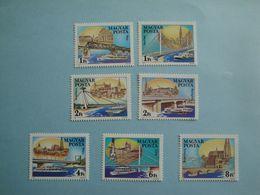 Bateaux 1985 Hongrie Yv 2959/65  ** MNH Michel  3733/9  Scott 2902/8  SG 3608/14 Ships - Hongrie
