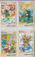 CHINA 2003 ART RAOUL DUFY SET OF 4 PHONE CARDS - Malerei