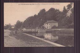 SAINT GERMAIN SUR ILLE L ECLUSE ET LE CANAL D ILLE ET RANCE 35 - Saint-Germain-sur-Ille