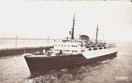 "Nord        744        Dunkerque.Entrée Du Ferry Boat "" St Germain "" - Dunkerque"