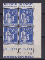 D162/  N° 368 BLOC DE 4 AVEC BANDE PUB  NEUF** - Collections