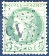 France N°53 - Etoile 17 - (F1421) - 1871-1875 Cérès
